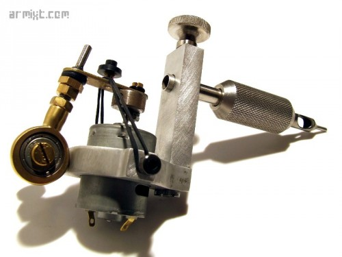 Tattoo machine rotative motor 003 armixt for Types of tattoo machines