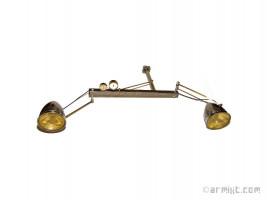 Plafonnier Deux Lampes