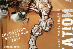 Exposition MUTATION | Jean-Marie Salanié | Flyer